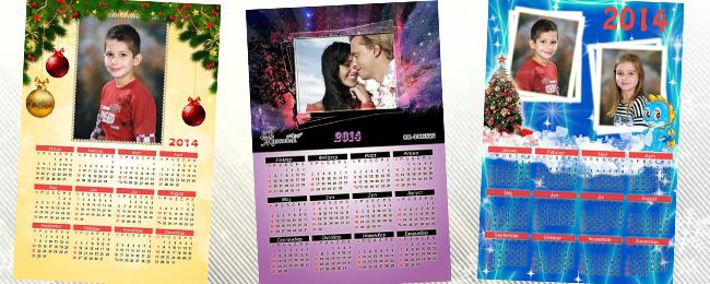 180 din za foto kalendar za 2014.godinu sa vašim najdražim foto